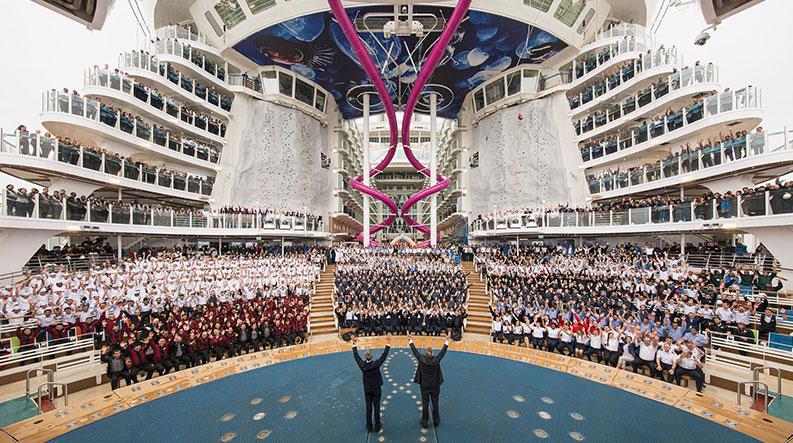 بزرگ ترین کشتی کروز دنیا کدام است؟