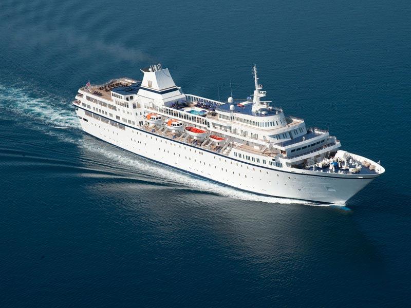 خاطره سفر با کشتی کروز Aegean Odyssey