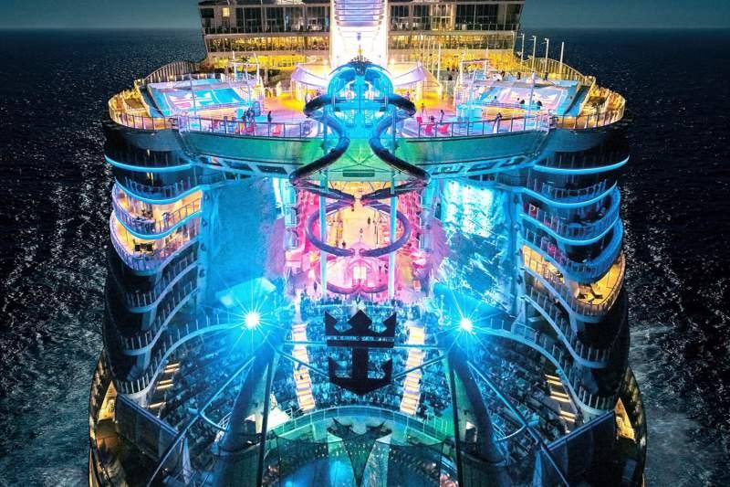 بالاخره بزرگترین کشتی کروز دنیا Symphony of the Seas آماده بهره برداری شد