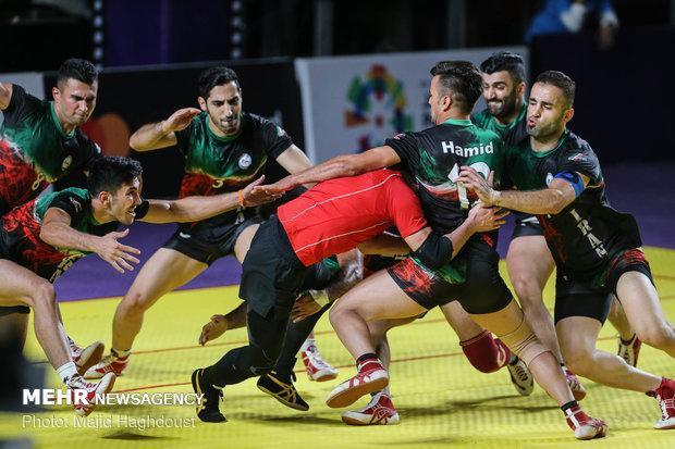 برد تاریخی تیم ملی کبدی مقابل هند و صعود به فینال