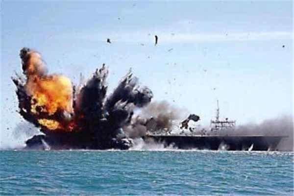 کشتی جنگی عربستان در سواحل جیزان هدف نهاده شد