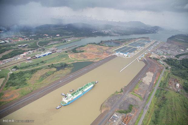 سایه جنگ تجاری بر کانال پاناما، کاهش تردد کشتی های چینی و آمریکایی