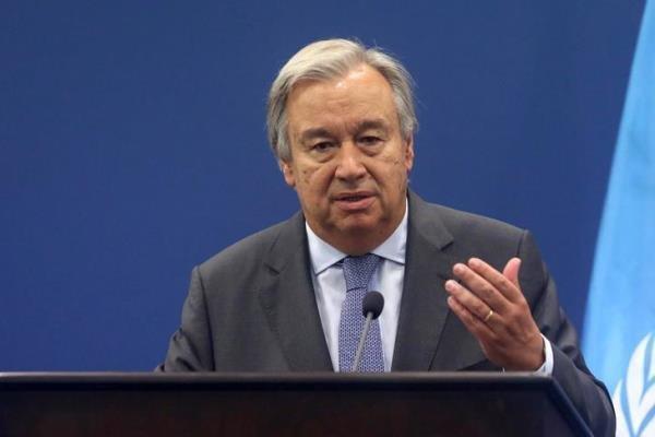 دیدار دبیرکل سازمان ملل با وزیر خارجه آمریکا