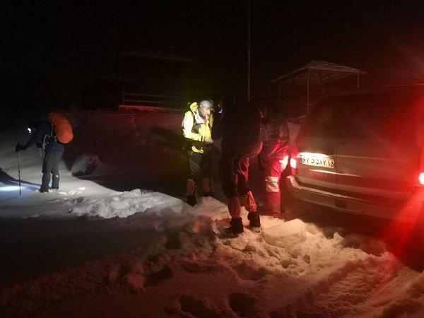 جوان مفقود شده در کوه میشو مرند پیدا شد
