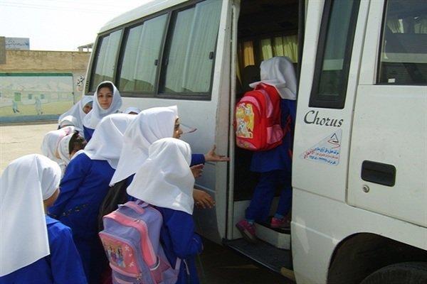 کلیه مدارس دارای سرویس روستا مرکزی در بشاگرد تعطیل است