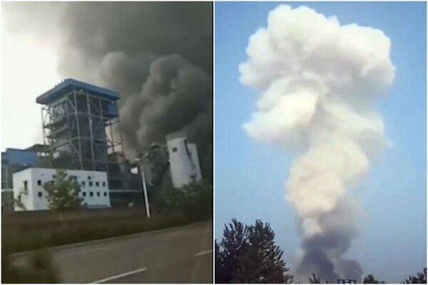 انفجار کارخانه گاز در چین با 10 کشته، 29 زخمی و 5 مفقود