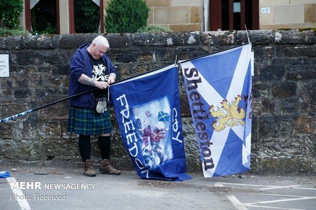 بیشتر اسکاتلندی ها خواهان جدایی از انگلیس هستند
