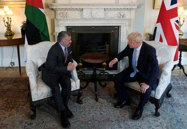 استقبال نخست وزیر انگلیس از اصلاحات مالی در اردن