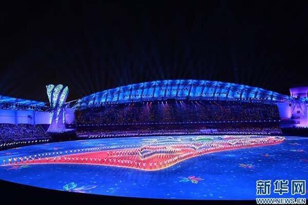 هفتمین دوره بازی های نظامی دنیا در وو هان چین گشایش یافت