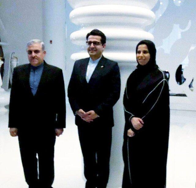 رایزنی سخنگوی وزارت امور خارجه با همتای قطری اش