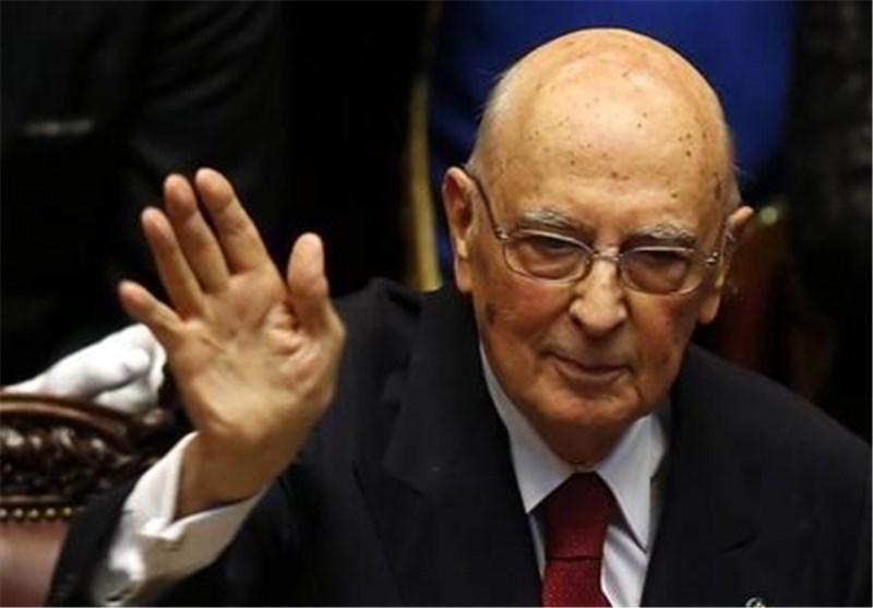 رئیس جمهور ایتالیا استعفا کرد