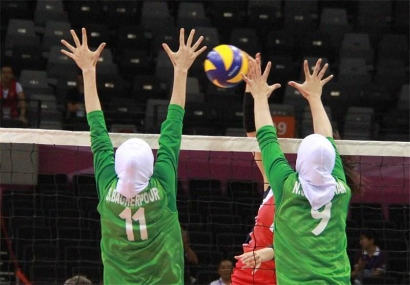 شکست بانوان والیبالیست برابر چین تایپه