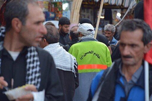 850 پاکبان و 60 آتش نشان تهران در خدمت زائران کربلا