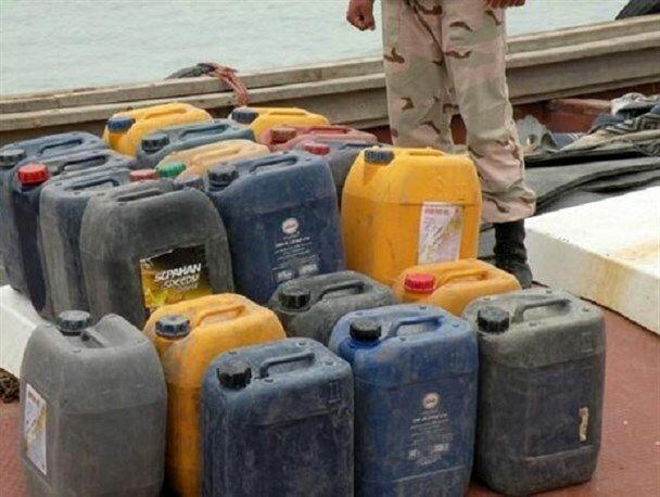 کشف 128 هزار لیتر سوخت قاچاق در مرزهای آبی میناب