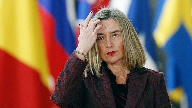 فدریکا موگرینی با اتحادیه اروپا خداحافظی کرد