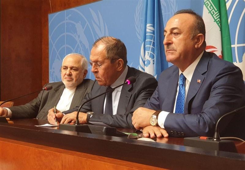 بیانیه مشترک وزرای خارجه ایران، روسیه و ترکیه درباره سوریه