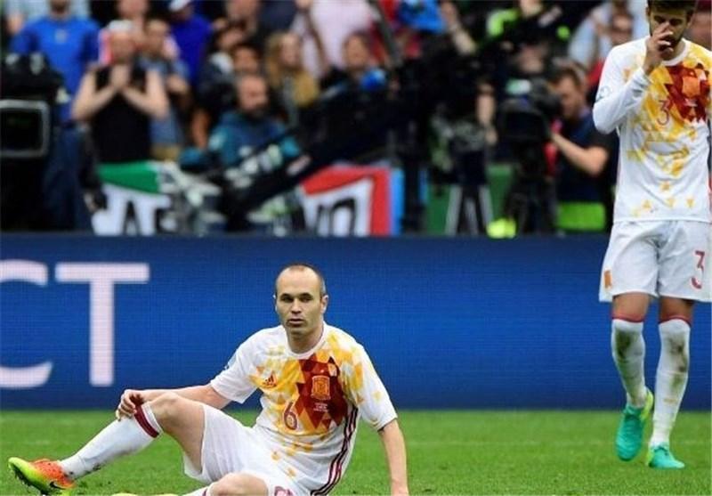 اینیستا: ایتالیا تیم برتر میدان بود، تاوان فشار روانی عقب افتادن مان را دادیم
