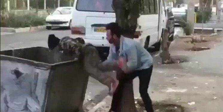 اولین صحبت های فرد اهانت کننده به کودک زباله گرد، دارم سکته می کنم