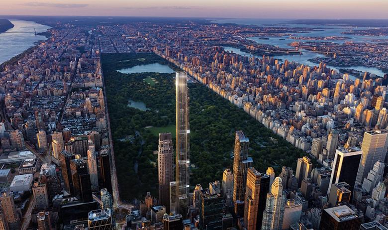 نگاهی به امکانات بلندترین ساختمان مسکونی دنیا در نیویورک: یک کلوپ در طبقه صدم و چند طبقه مخصوص فعالیت های سبک زندگی