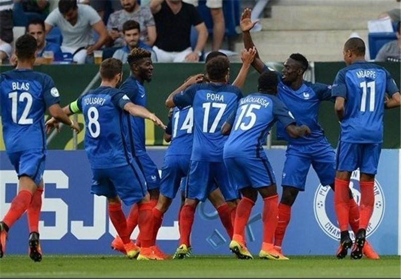 فرانسه در قهرمانی زیر 19 ساله های اروپا هت تریک کرد