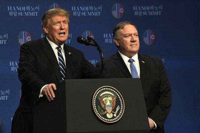 ترامپ: درخواست کیم برای لغو تحریم های کره شمالی را رد کردیم