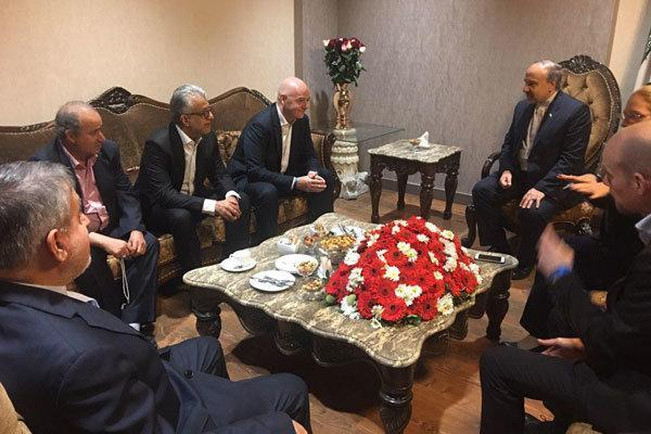 شرح وزیر ورزش ایران به رئیس فیفا درباره دلیل استعفای مهدی تاج