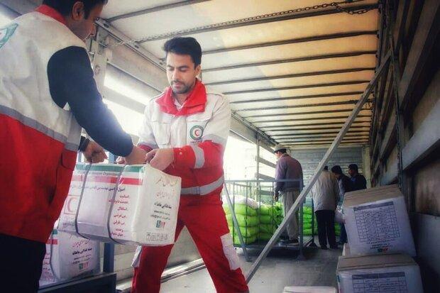 ارسال محموله امدادی از همدان به سیستان و بلوچستان