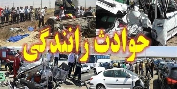 تصادف در اتوبان شهید بروجردی