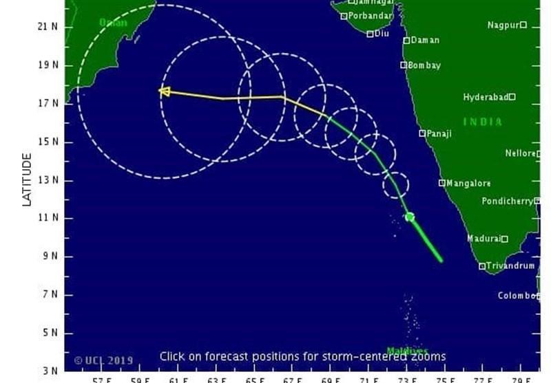 مکران در جدال با کیار؛ بی سابقه ترین طوفان حاره ای 40 سال اخیر به ساحل نرسید