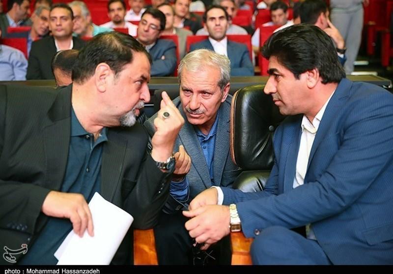 حضور نامزد ریاست فدراسیون فوتبال در ستاد انتخاباتی یک نماینده مجلس