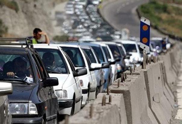 ترافیک سنگین در تهران-کرج، اعلام محدودیت تردد تا جمعه