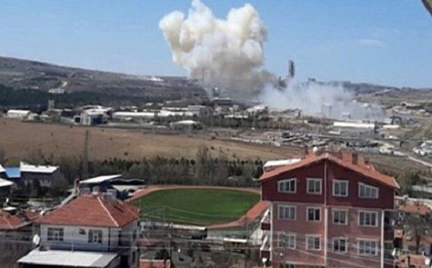 انفجار در یک کارخانه اسلحه سازی در ترکیه