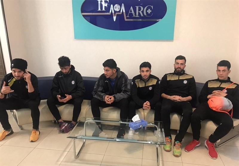 بازیکنان پارس جنوبی در ایفمارک حاضر شدند