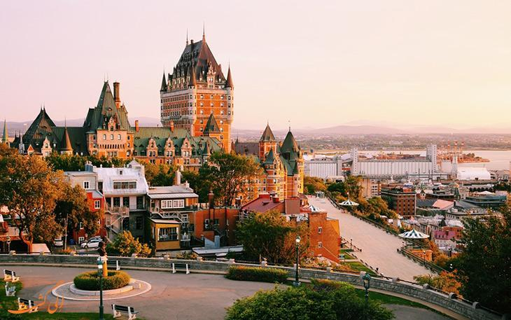 منطقه کبک قدیم، تکه ای از تاریخ اروپا در خاک کانادا!