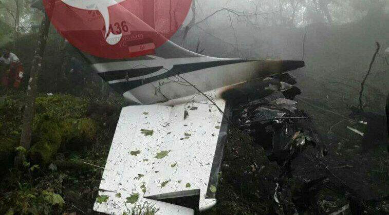 پیکر شهدای هواپیمای سانحه دیده پیدا شد
