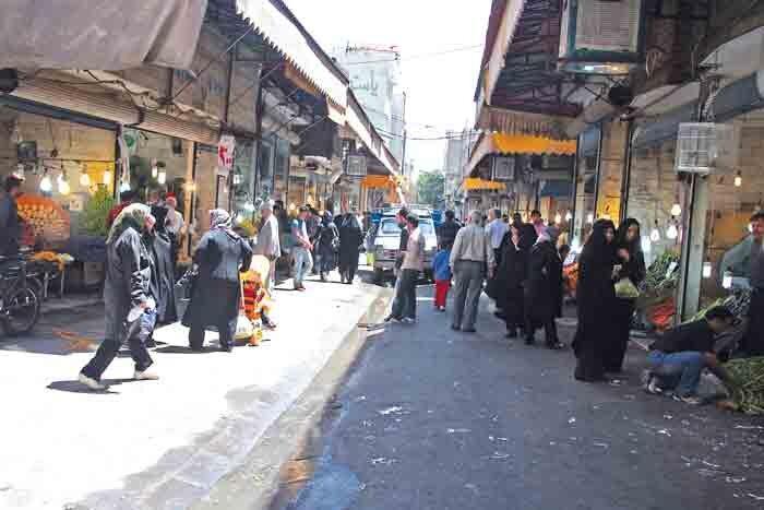 بازارچه شهرستانی نوسازی می گردد