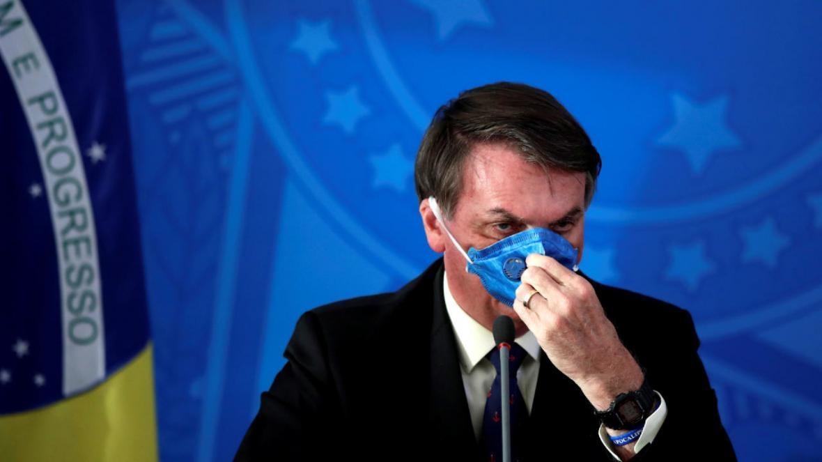 تست کرونای رئیس جمهور برزیل برای بار سوم مثبت شد
