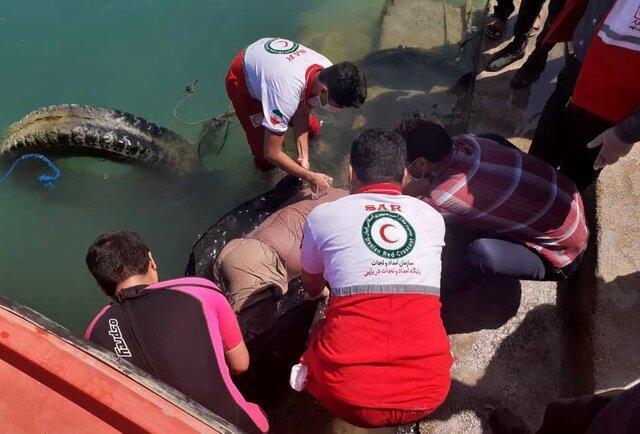 کشف جسد فرد ناشناس در اسکله جلالی بوشهر