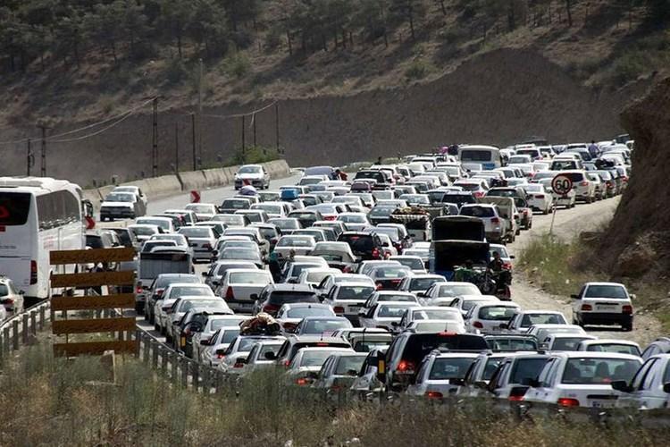 ترافیک سنگین در سه محور منتهی به تهران