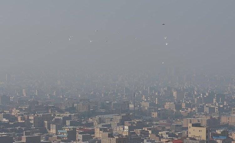 آلودگی هوای 8 شهر کشور