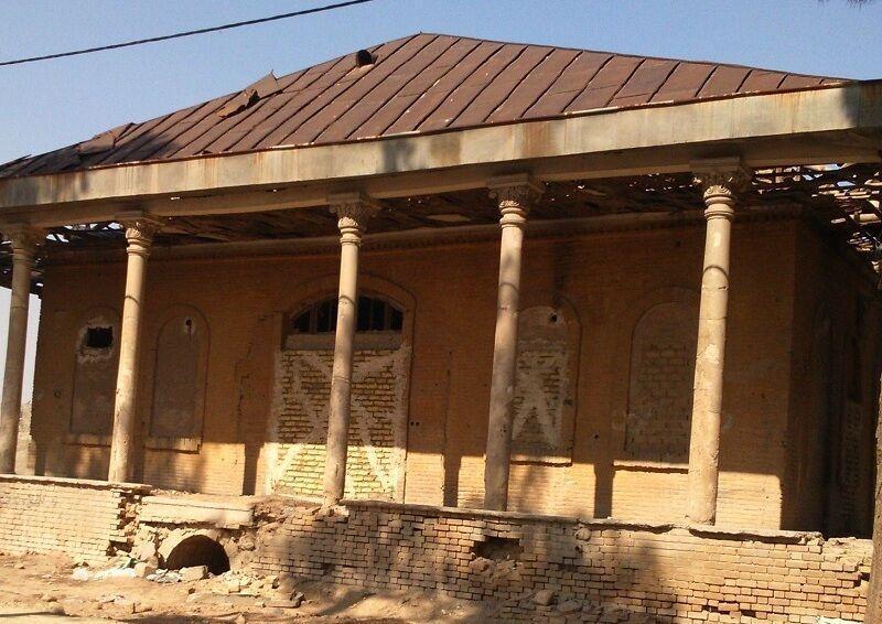 خبرنگاران عمارت فخرالدوله شهرستان ری بازسازی می&zwnjشود