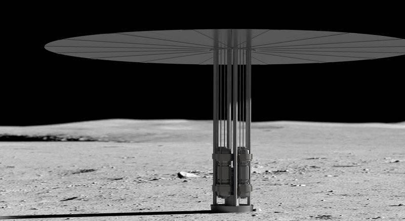 طرح آمریکا برای ساخت نیروگاه هسته ای در کره ماه