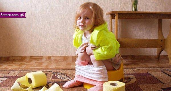 توصیه های زمان کنترل مدفوع در بچه ها