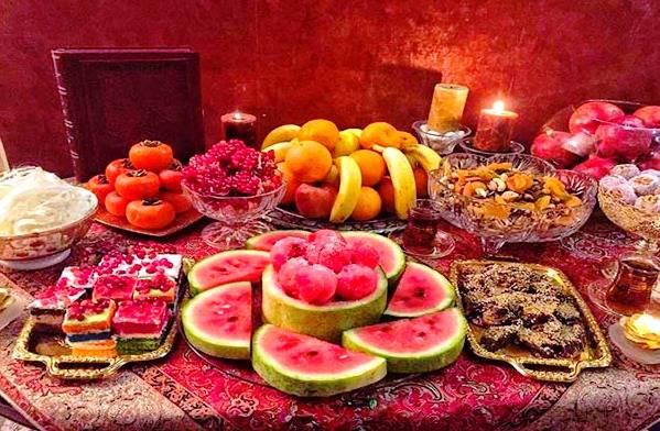 چرا شب یلدا هندوانه می خوریم؟