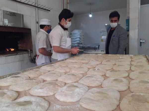 خبرنگاران برخورد جدی با نانوایی های متخلف فروش آرد سهمیه ای