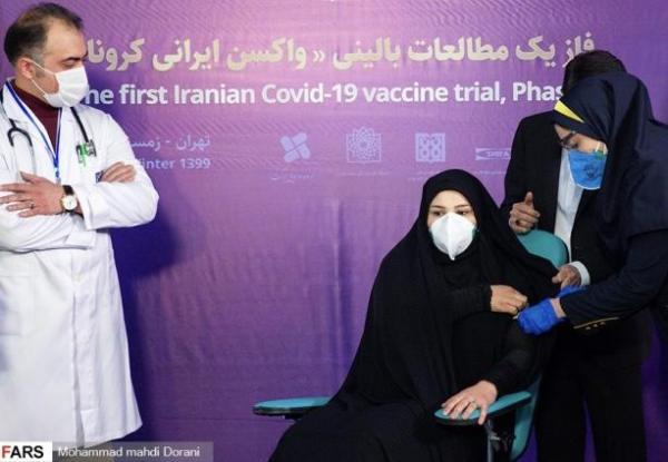 کیهان: تزریق واکسن کرونا از روى چادر فتوشاپ نق زن ها بود