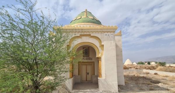 آرامگاه شیخ احمد راشد مدنی در بستک