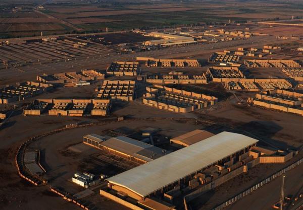 حمله راکتی به دفتر شرکت آمریکایی در استان صلاح الدین