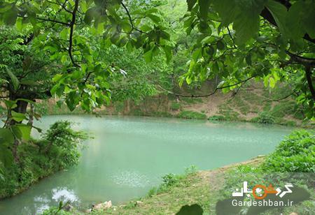 دریاچه و چشمه گل رامیان؛ طبیعت بی نظیر گلستان، عکس