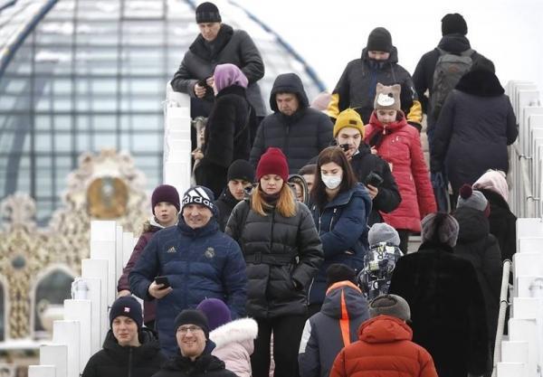 کمترین تعداد ابتلای روزانه به کرونا در روسیه از اول مهر ماه